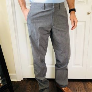 J. CREW Grey Casual Dress Pants | 32/34